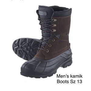 Men's KAMIK Nationwide Waterproof Winter Boots 13